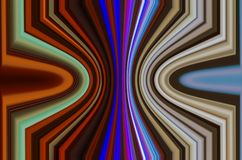 ABSTRACTION. Artistic visions of the world of colors vector illustration