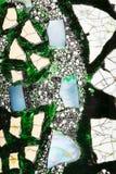 Abstraction avec des inclusions de pierre naturelle Photographie stock libre de droits