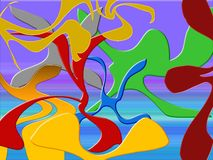 Abstraction background Royalty Free Stock Photos