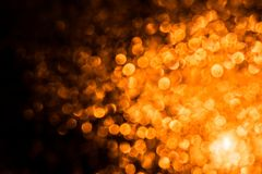 Abstraction background with yellow orange fire flares circles. Christmas abstraction background with circles. Abstraction background with yellow orange fire Royalty Free Stock Photos