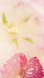 Abstraction with beautiful flowers tulips Stock Image