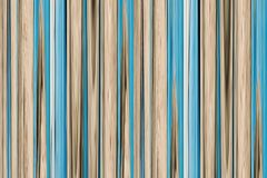 Abstraction beige blue wooden grunge background pastel tone vertical lines bamboo trunk Stock Photography