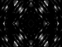 Abstraction black and white star stock footage