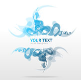 Abstraction blue background for text Royalty Free Stock Photo