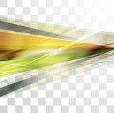 Abstraction colorée de vecteur de rayures de concept Photos libres de droits