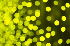 Abstraction colored blurry. lights out of focus. yellow royalty free stock photography