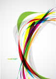 Abstraction  colorful background Stock Image