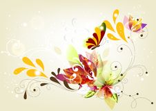 Abstraction colorful background Stock Photos
