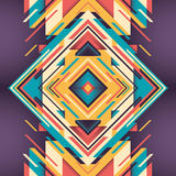 Abstraction. Colorful abstraction with geometric design Stock Images