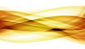 Abstraction of coloured curves Royalty Free Stock Photo