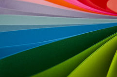 Abstraction from the coloured paper Stock Photos