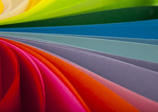 Abstraction from the coloured paper Stock Images