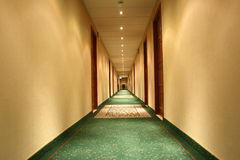 Abstraction in corridor Stock Photography