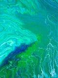Abstraction d'art frais de fluide d'énergie images stock