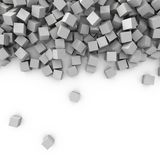 Abstraction 3d dynamique Photos libres de droits