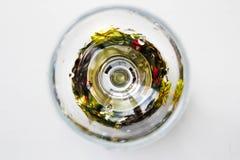 Abstraction dans le verre Photographie stock libre de droits