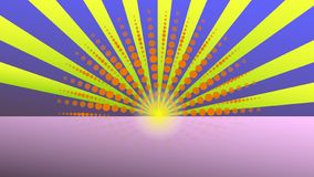 Abstraction, Dawn.Bright and original abstraction. vector illustration