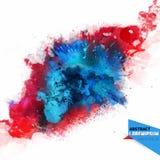 Abstraction de vecteur d'un mélange de couleurs Photographie stock