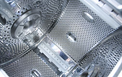 Abstraction, - detail chromium plating Royalty Free Stock Images