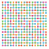 Abstraction in dots Stock Photography