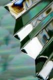 Abstraction en verre Image libre de droits