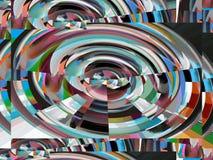 Abstraction et conception attrayantes Les industries graphiques et art Illustration de Vecteur