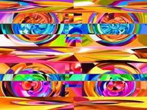 Abstraction et conception attrayantes Les industries graphiques et art Illustration Stock