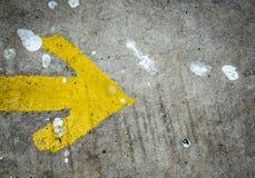 Abstraction et texture sur le plancher Photo libre de droits