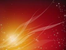 Abstraction. fiery brown background. Abstract background. Brilliant stars in the claret sky Royalty Free Stock Photography