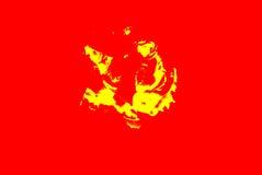 Abstraction Fleur Humeur rouge Photos libres de droits