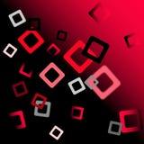 Abstraction géométrique de vecteur avec la tache floue Photo stock