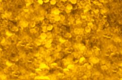 Abstraction golden lights Stock Photography