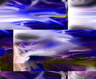 Abstraction. Graphic arts. Painting. Abstract. Art stock photo