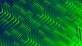 Abstraction of green stock illustration