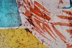 Abstraction, hot batik, background texture, handmade on silk, abstract surrealism art royalty free stock photos