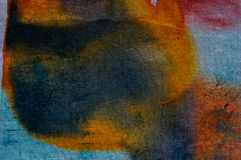 Abstraction, hot batik, background texture, handmade on silk, abstract surrealism art stock images