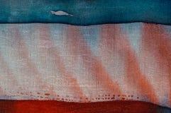 Abstraction, hot batik, background texture, handmade on silk, abstract surrealism art stock image