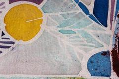 Abstraction, hot batik, background texture, handmade on silk, surrealism art royalty free stock image