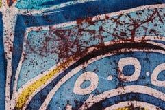 Abstraction, hot batik, background texture, handmade on silk, surrealism art stock image