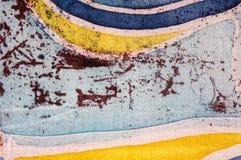 Abstraction, hot batik, background texture, handmade on silk, surrealism art royalty free stock photos