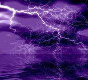 Abstraction  lightning Royalty Free Stock Images