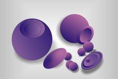 Abstraction lilas Photo libre de droits