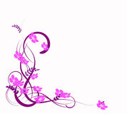 Abstraction lilas Illustration de Vecteur