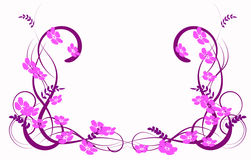 Abstraction lilas Illustration Stock