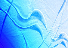 Abstraction - lines on ice Stock Images