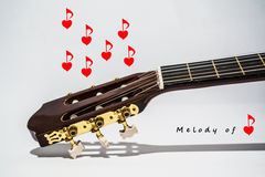 Abstraction, love and melody love Stock Photos