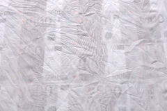 Abstraction made of white fabric and euro money Stock Images