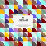 Abstraction of modern colorful pattern background vector. vector illustration