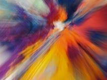 Abstraction multicolore Photos libres de droits