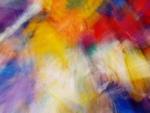 Abstraction multicolore de tache floue Photographie stock
